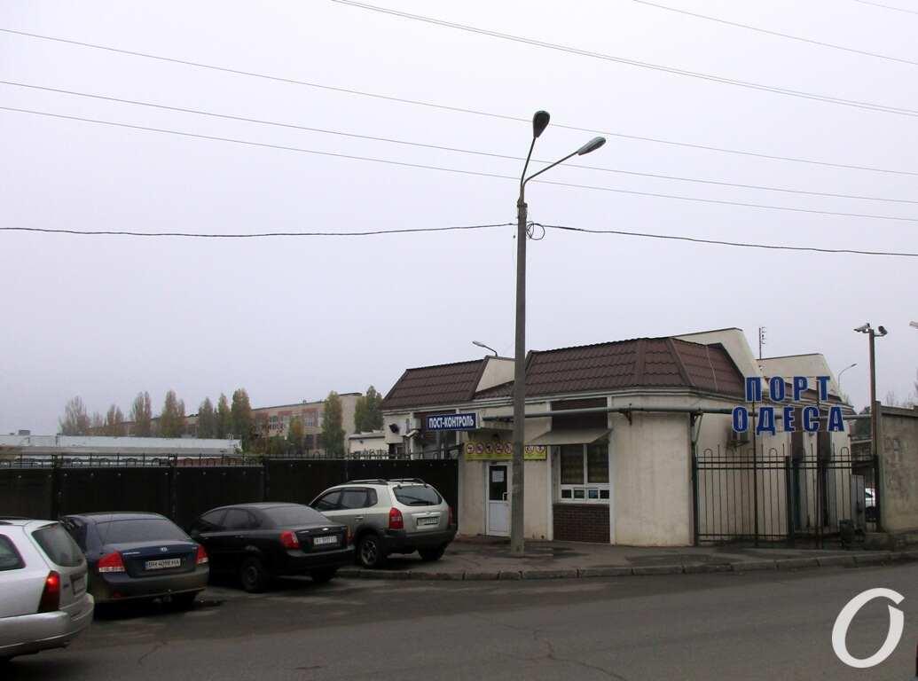 улица Одария, порт
