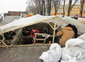 Раскопки на одесском Приморском бульваре: «перешеек» и средневековые следы (фото)