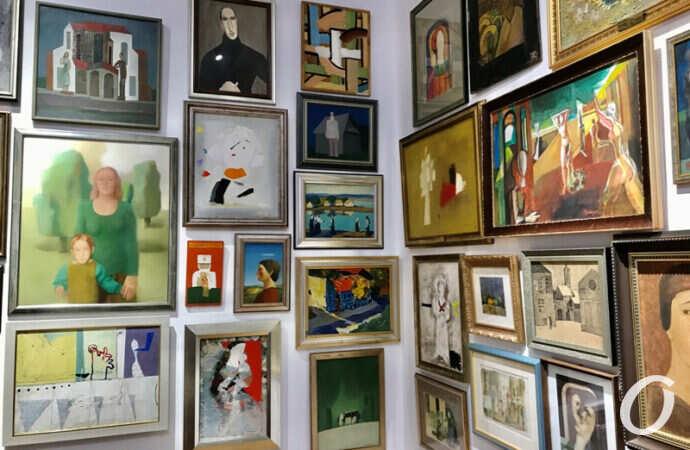 Одесситы могут увидеть работы Шагала, Дали и еще сотен известных художников (фото)