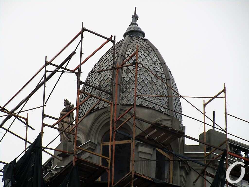 Дом Либмана, купол