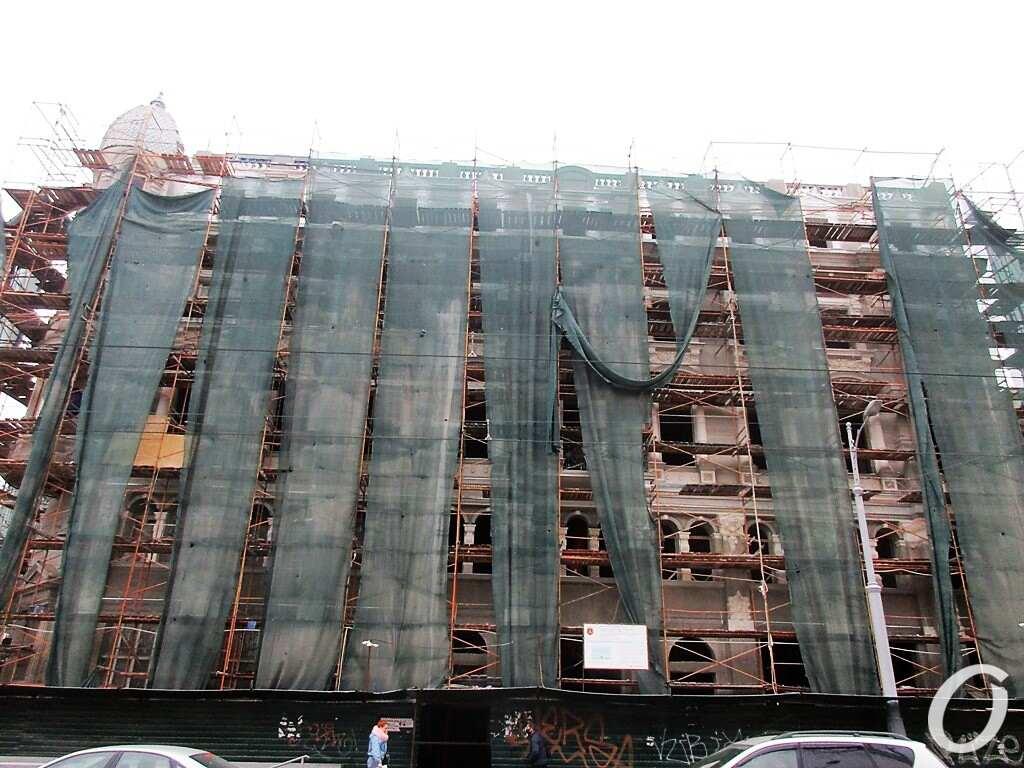 Дом Либмана, закрыт на ремонт