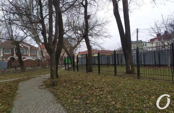 В Одессе на Фонтане хотят построить многоэтажку на месте сквера (фото)