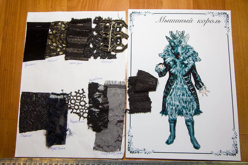 Щелкунчик, костюм