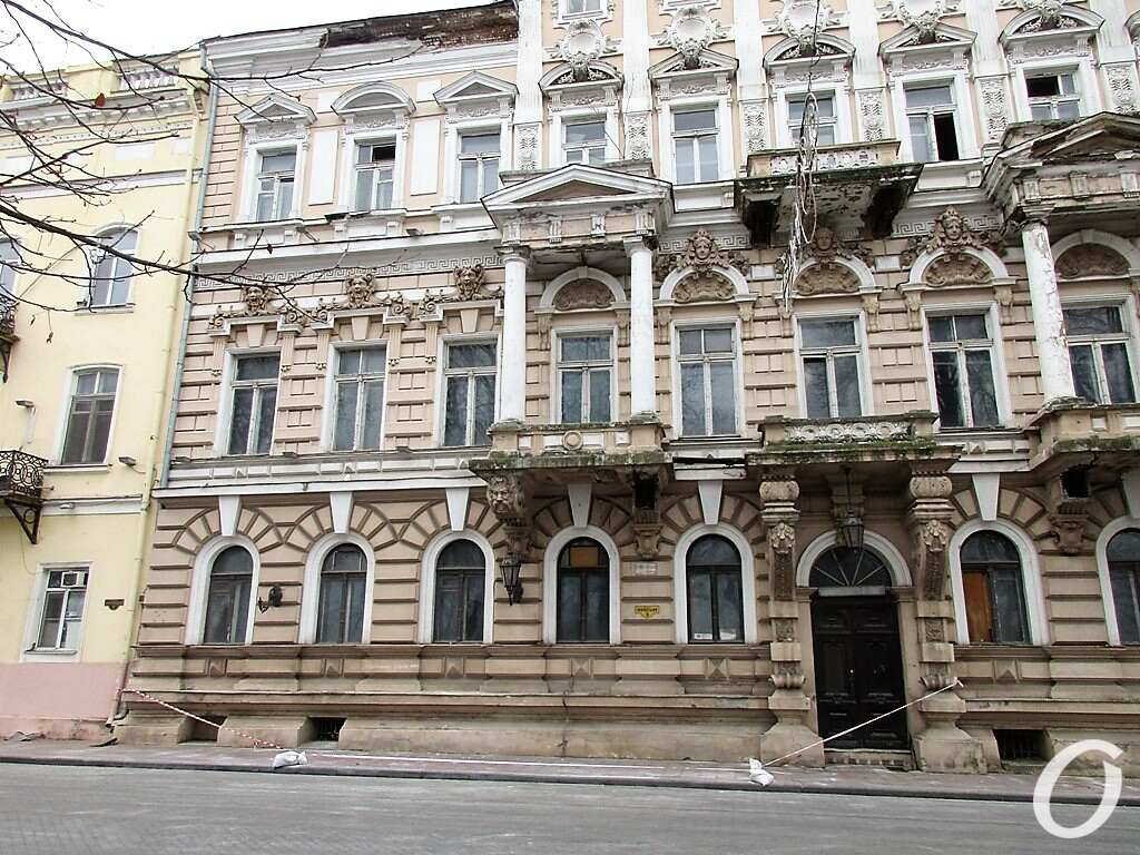 дом Лерхе на Приморском бульваре