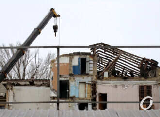 Одесский дом на Торговой, 20: судьба после частичного обрушения (фото)