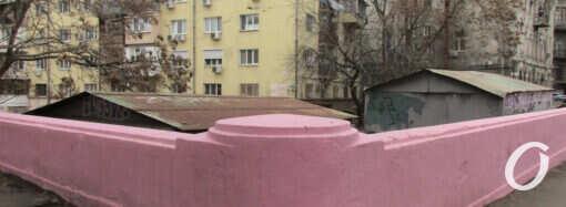 Незнакомая Одесса: где находится полумост Сикарда и почему он стал ядовито-розовым? (фото)