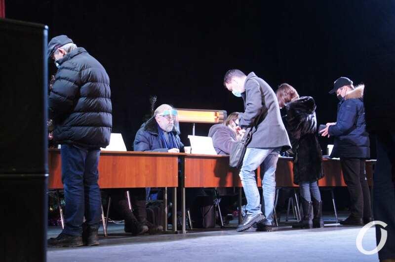 Выборы ректора ОНУ, избиратели