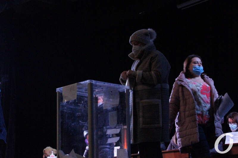 Выборы ректора ОНУ, голосование