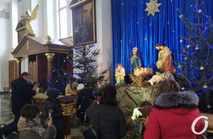 Как католики Одессы отмечают Рождество – фоторепортаж