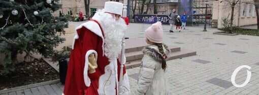 Одесская резиденция Деда Мороза: какие желания загадывают горожане? (фото)
