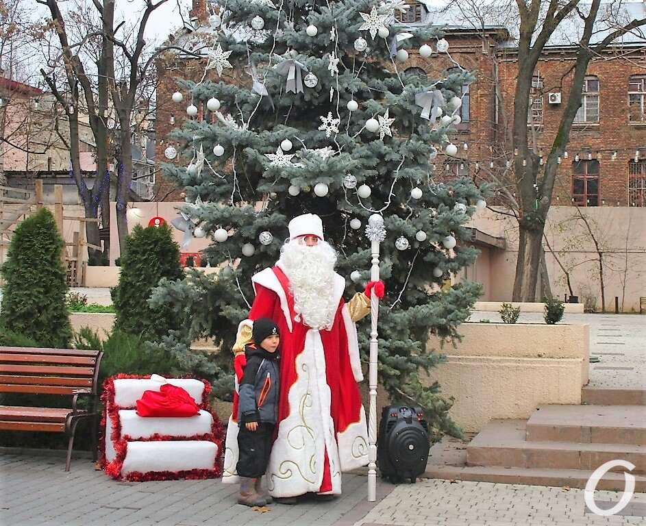 Одесская резиденция Деда Мороза