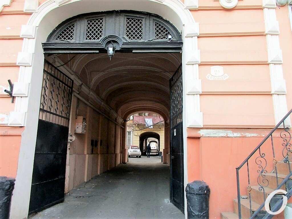 Киношные места Одессы, проходной двор