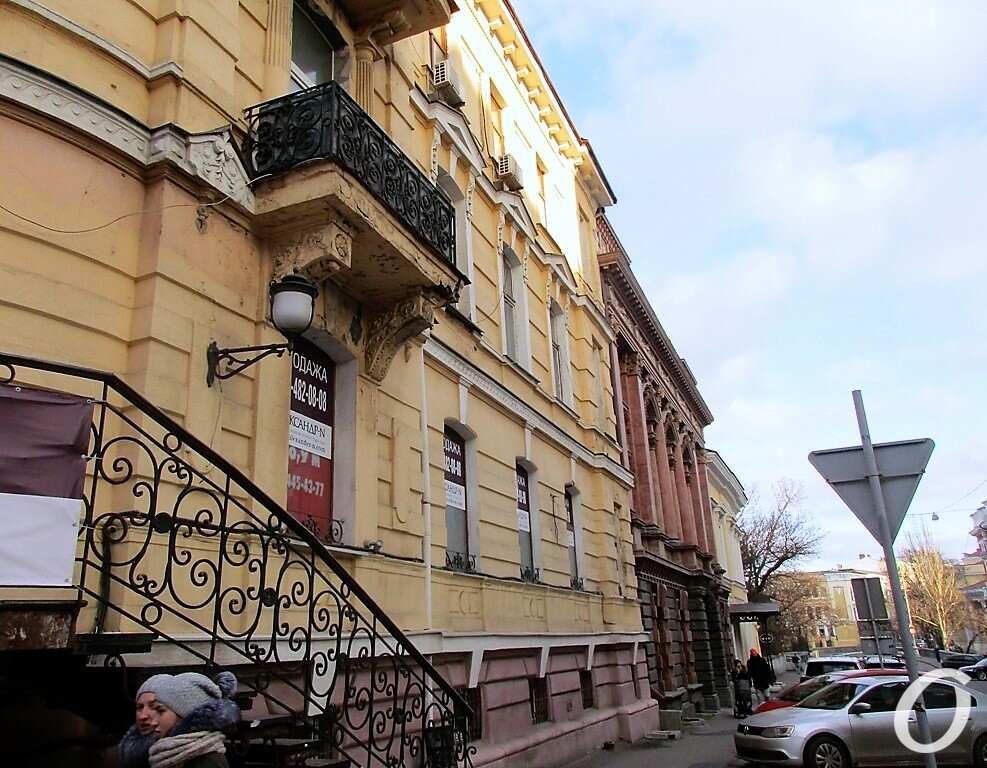 Киношные места Одессы, балкон