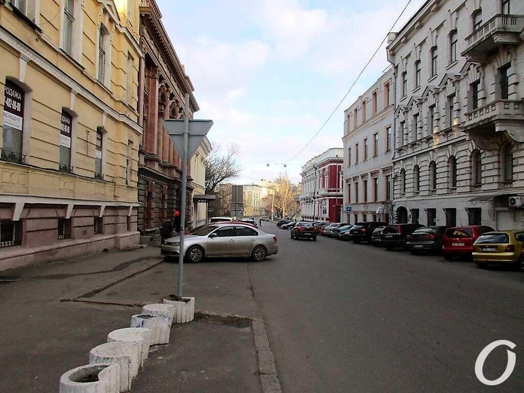 Киношные места Одессы, улица Сабанеев мост