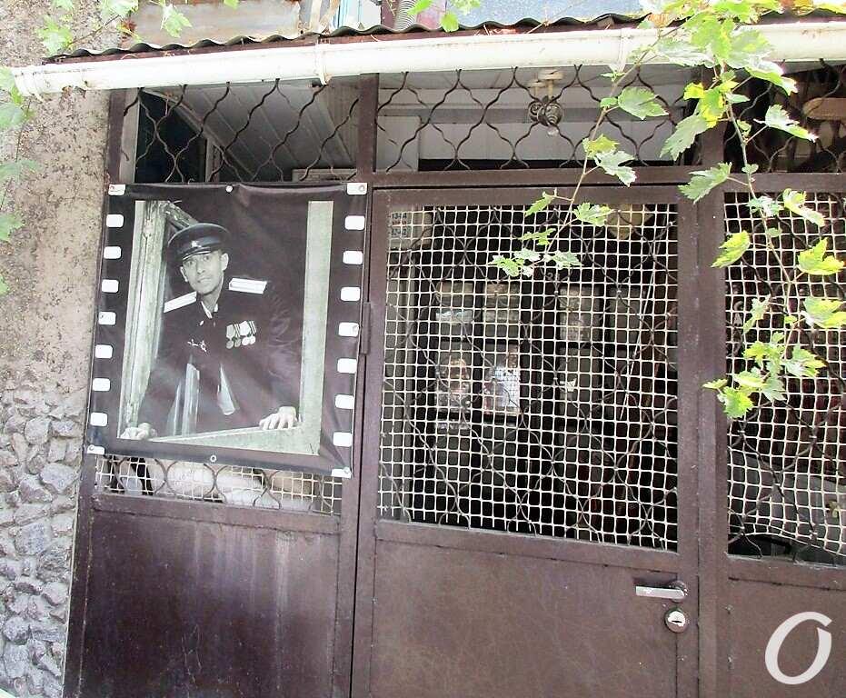 Киношные места Одессы, двор на Колонтаевской