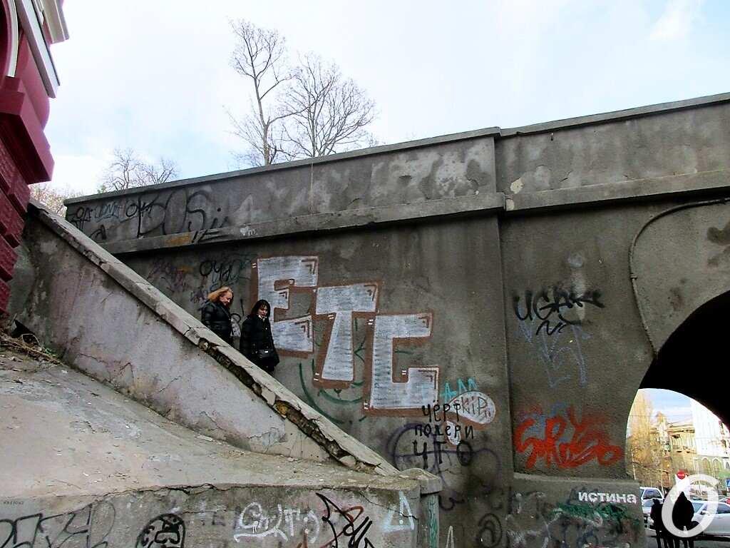 Киношные места Одессы, лестница