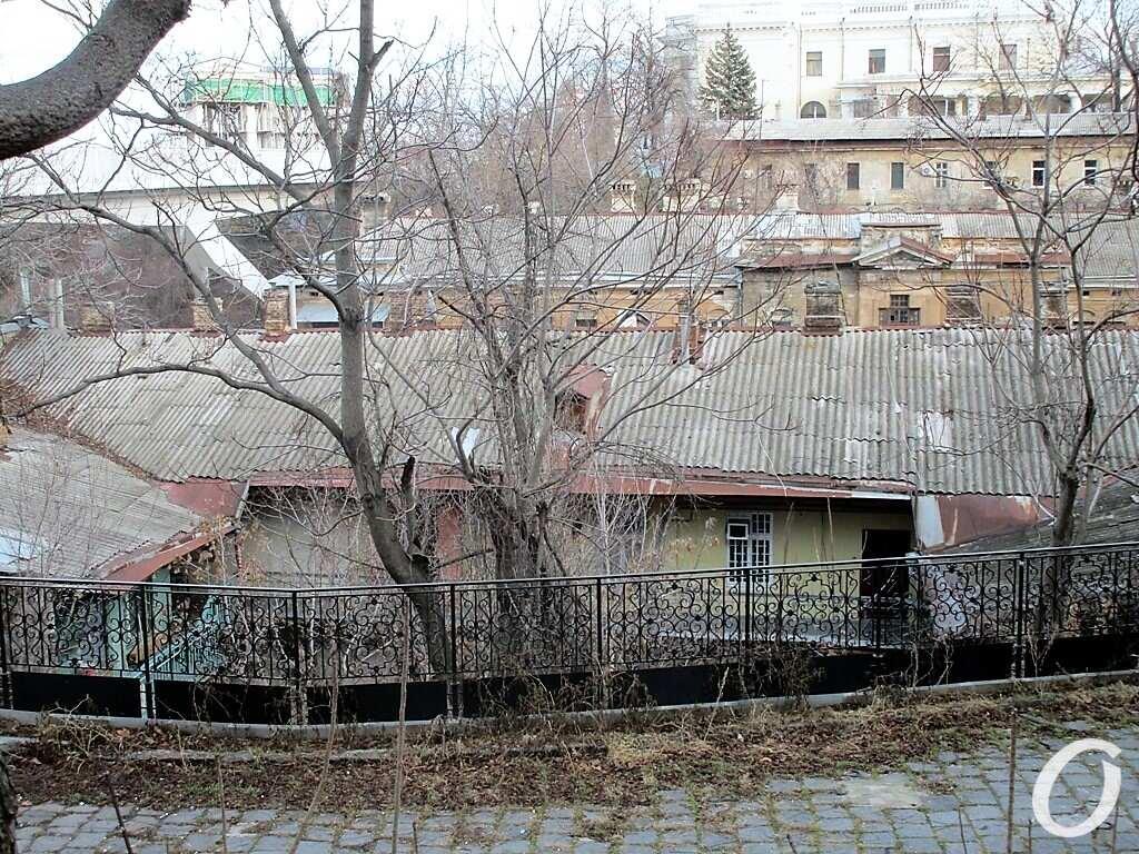 Киношные места Одессы, веранда