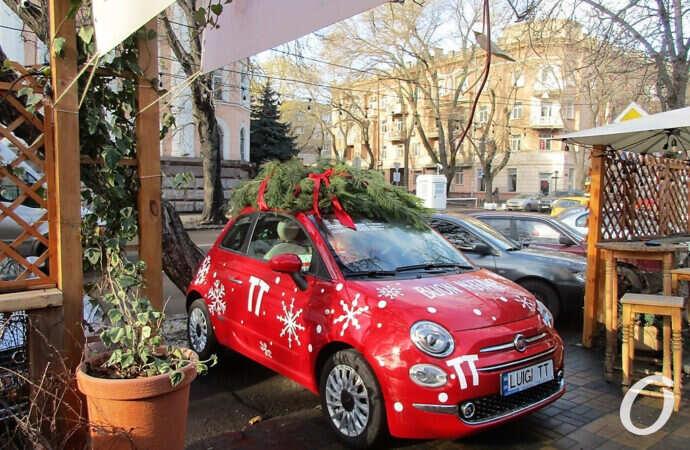 Одесский Луиджи кардинально изменился и преобразился к зимним праздникам (фото)