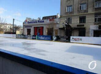 Каток на Греческой площади в Одессе еще не работает, но коньки уже завезли (фото)