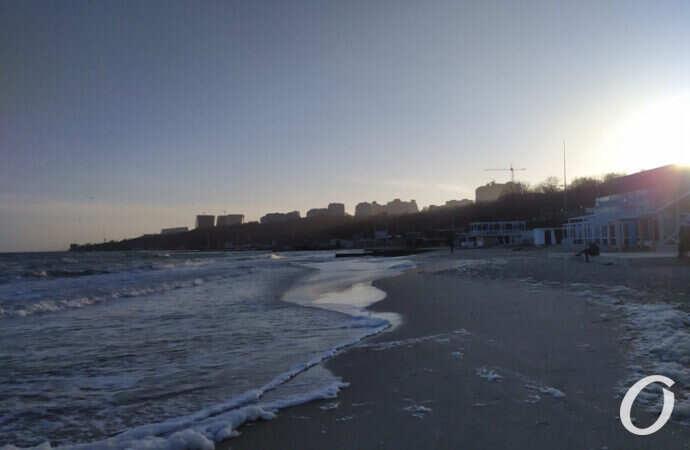 Температура морской воды в Одессе 5 июня