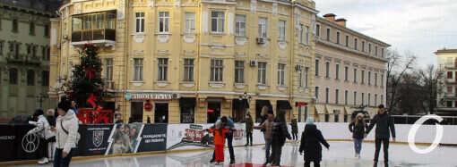 Одесский каток на Греческой площади уже открылся: цена и условия (фото)