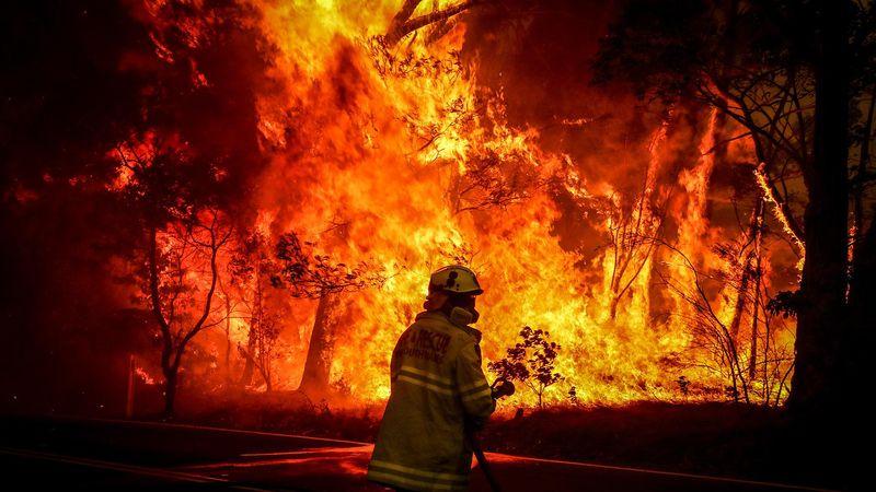 австралия пожар