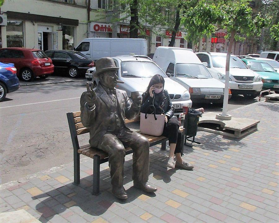 скульптура банкир одесса