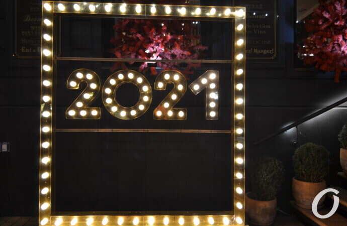 Новый год-2021: как выглядят предпраздничные витрины Одессы (фото)