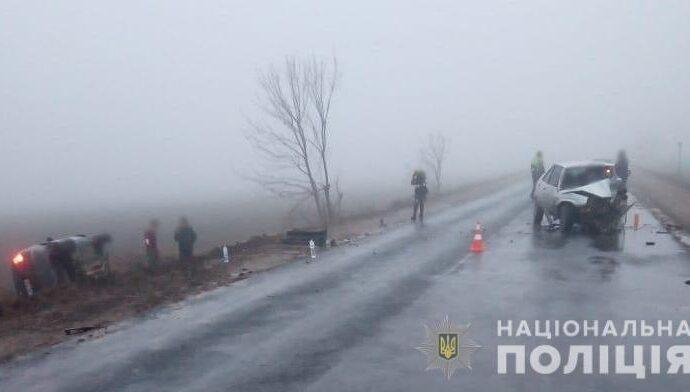 ДТП в Одесской области: при столкновении двух машин пострадали маленькие дети (фото)