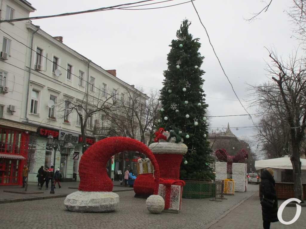 Дерибасовская-2020, декабрь, елка