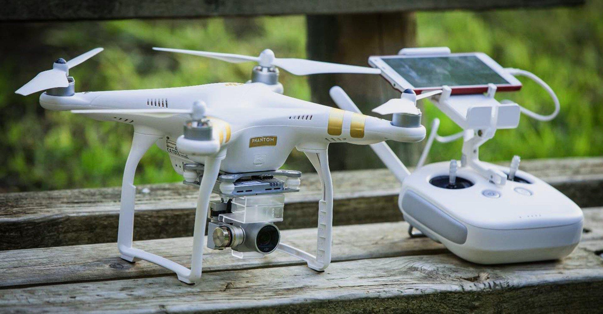 Квадрокоптер. Радиоуправляемый дрон.