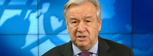 2020-й год стал годом испытаний и слёз – генсек ООН (видео)