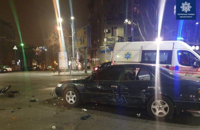 В Одессе на Ришельевской из-за пьяного водителя произошло ДТП