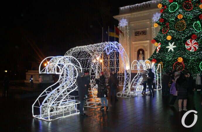 Одесситы заряжаются новогодним настроением (фоторепортаж)