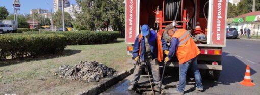 «Инфоксводоканал» с помощью спецтехники прочистил более 33 километров канализационных сетей