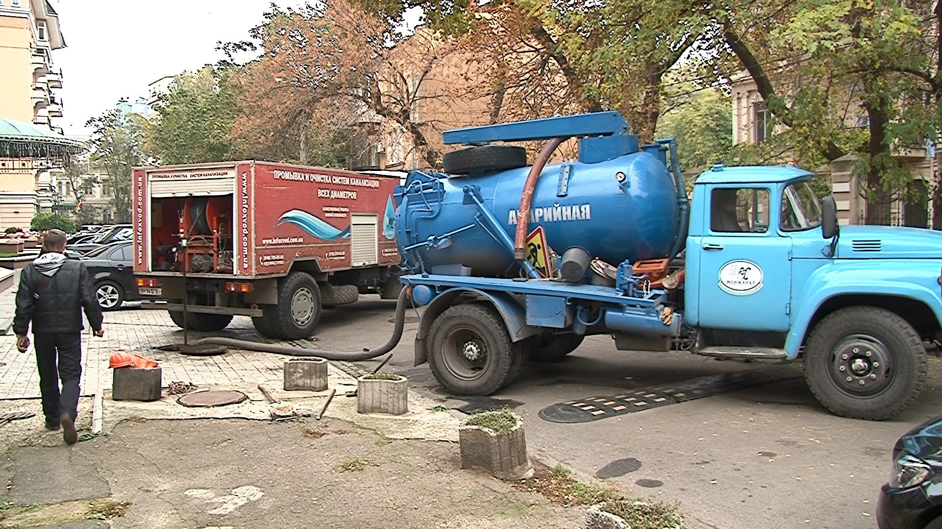 Прочистка канализационных сетей