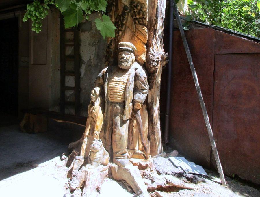 скульптура моряка одесса