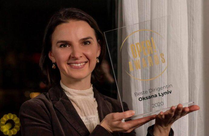 Блиставшая в Одесском оперном театре Оксана Лынив названа лучшим дирижером 2020 года