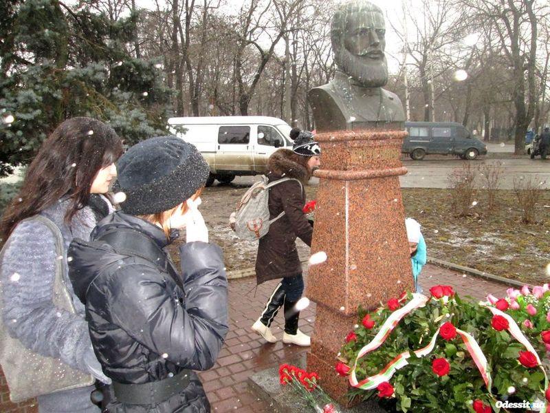памятник христо ботеву одесса