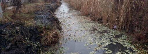 В Одессе начали чистить канал, построенный во время оккупации (фото)