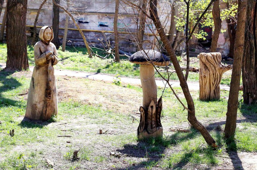 сказочная поляна парк шевченко