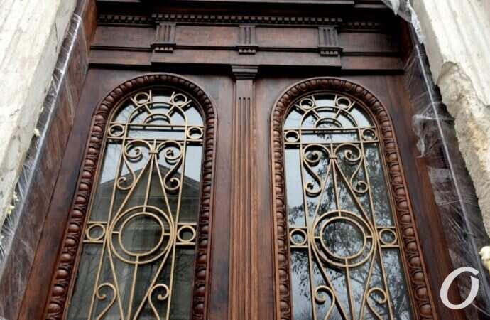 В одесской мэрии «не зашел» проект по реставрации старинных дверей