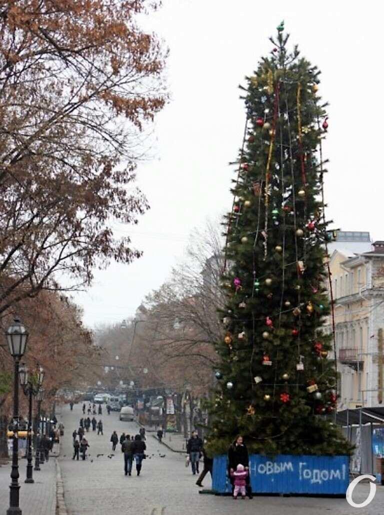 елка на Дерибасовской, 2012 год