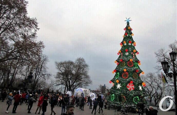 главная елка на Думской