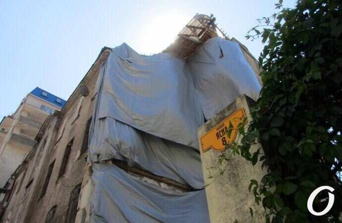 обрушение дома на Ясной в Одессе