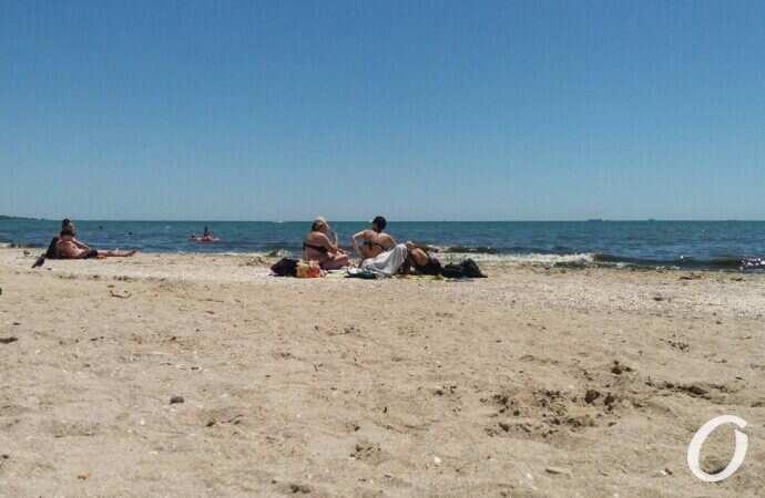 Лузановка, пляж