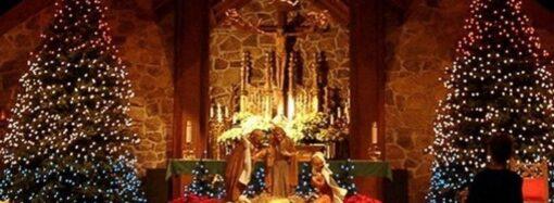 Как католики Одессы празднуют католическое Рождество?