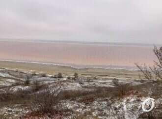 Куяльницкий лиман на Одесчине снова спасают морской водой