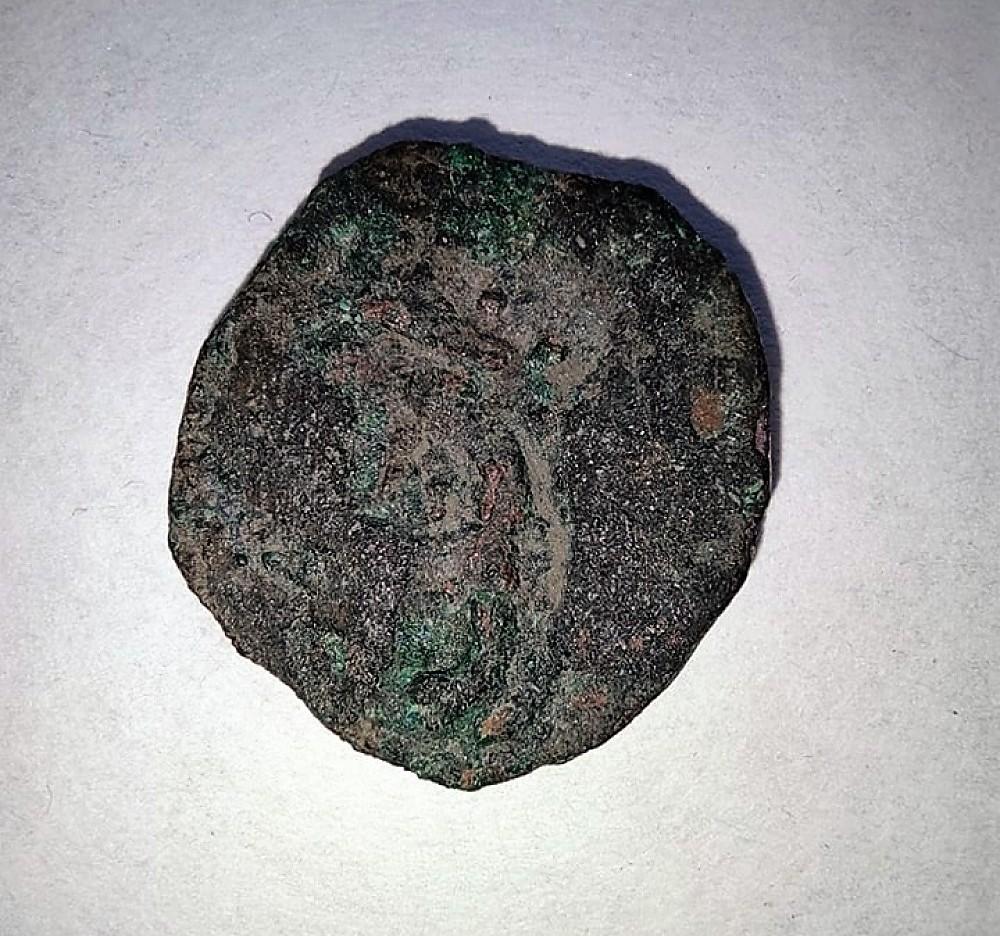 монета, найденная при раскопках