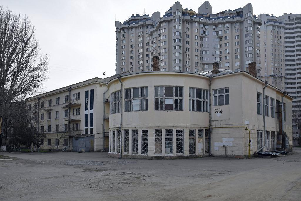 коструктивизм в Одессе, улица Канатная